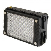 Faretto 96 led Z96 per DSLR, Videocamere e Action camera 800Lux, 5600K/3200K